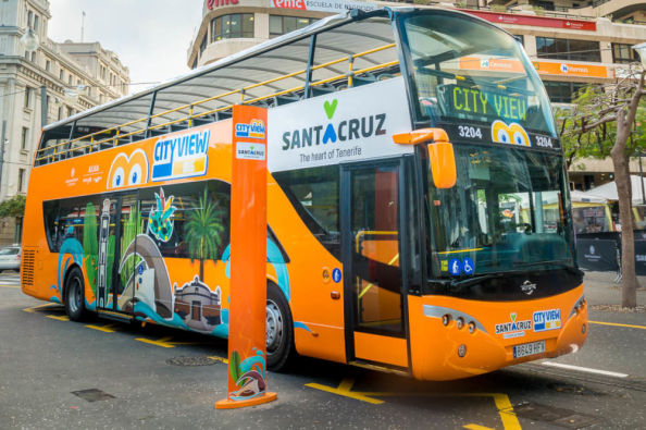 Discovering Tenerife on a sightseeing bus