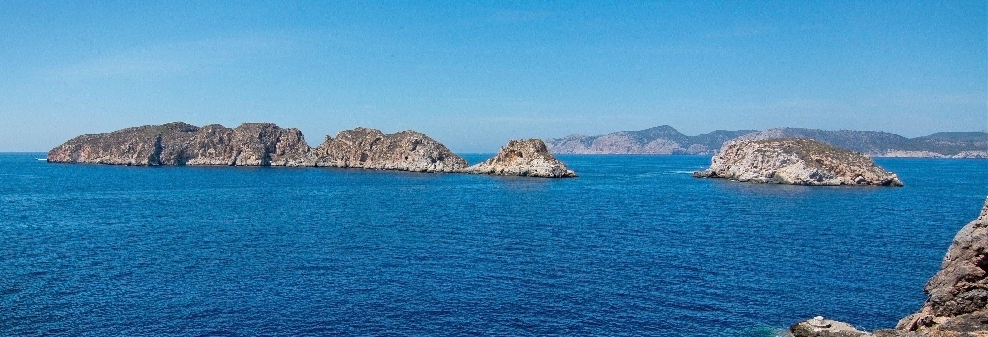 Paseo en barco por las Islas Malgrats y Puerto de Andrach