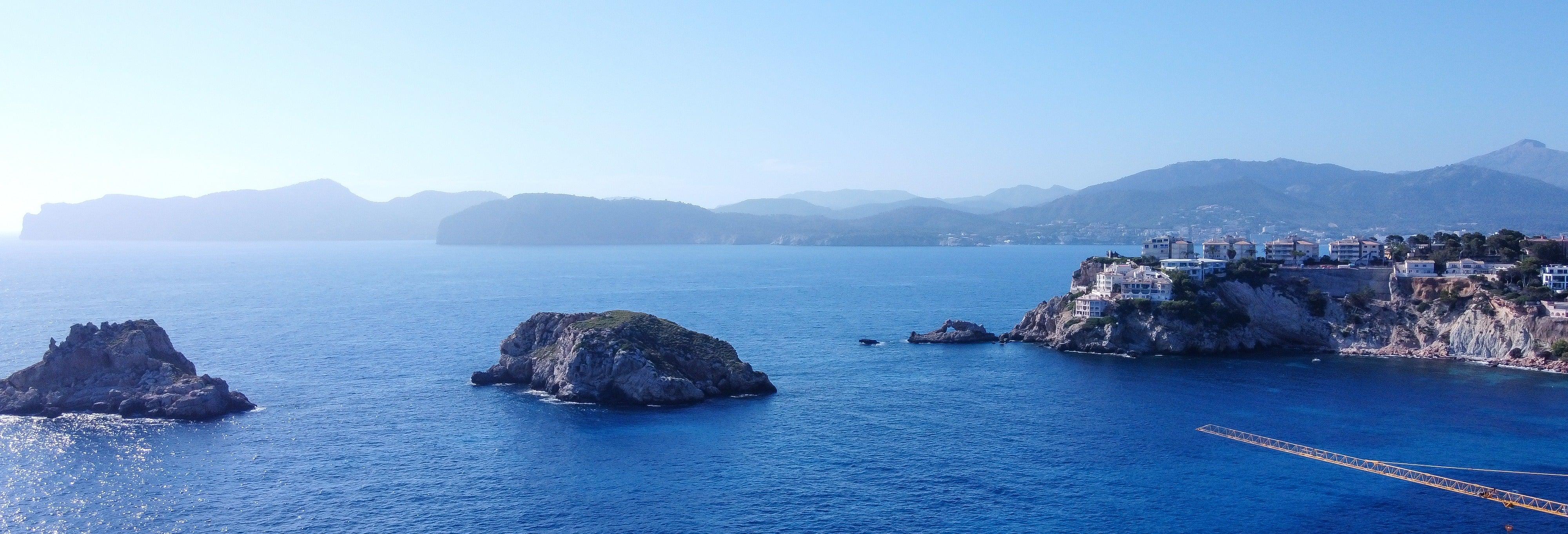 Passeio de barco com snorkel pelas Ilhas Malgrats saindo de Santa Ponsa