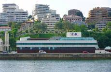 Entrada al Museo Marítimo del Cantábrico