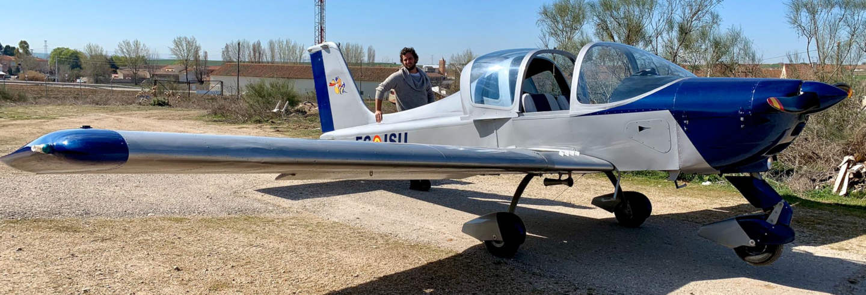 Paseo en avioneta por Segovia