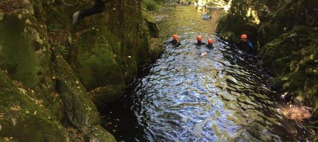 Barranquismo en el río Tines