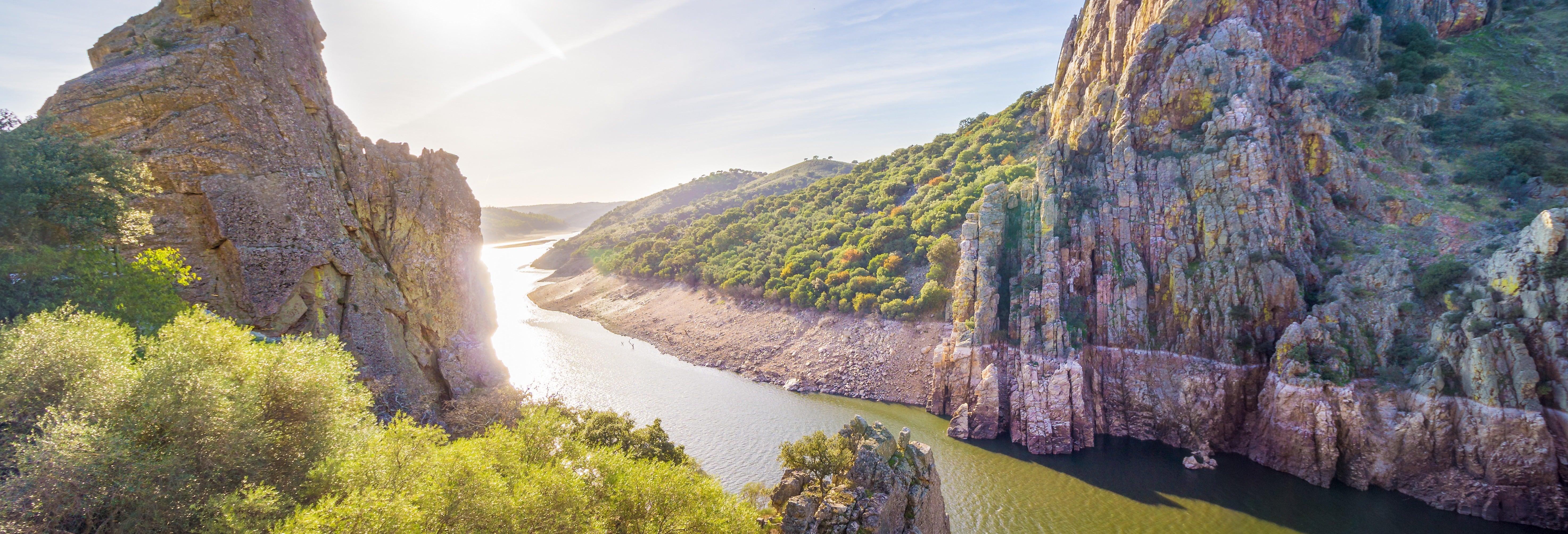 Passeio de barco por Monfragüe