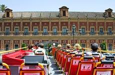 Autobus turistico di Siviglia