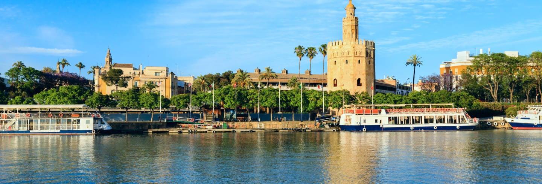 Crucero de lujo con comida por Sevilla + Espectáculo flamenco