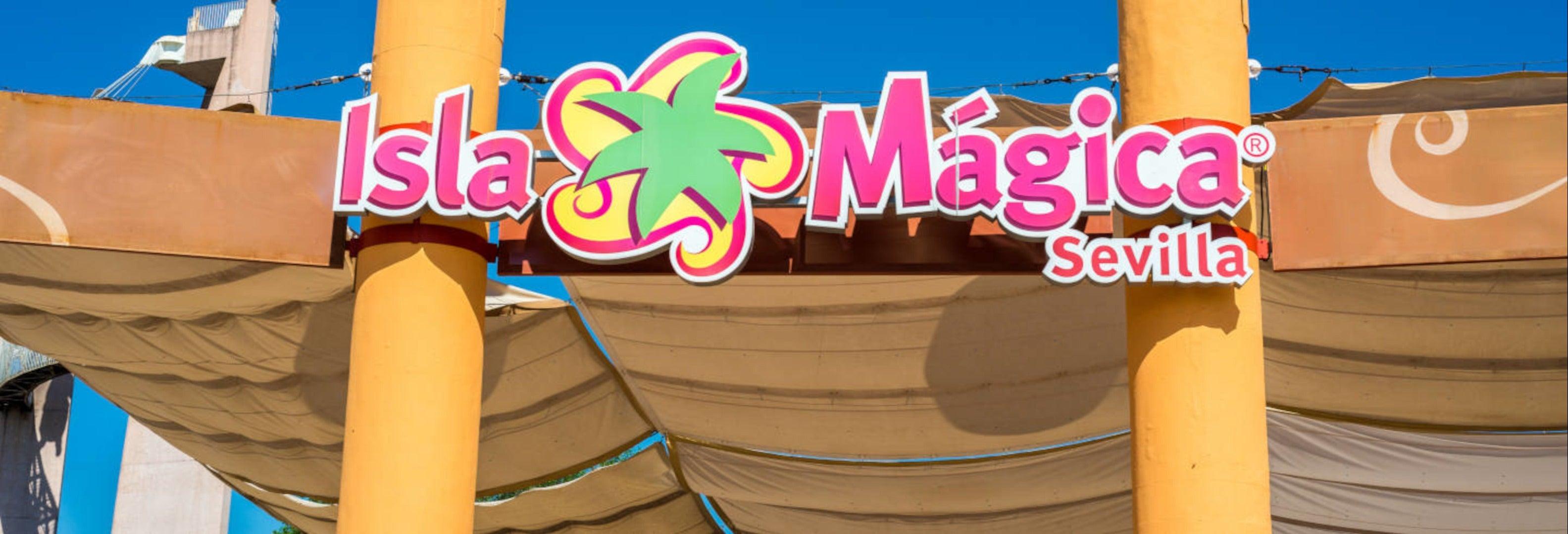 Entrada a Isla Mágica