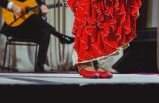 Spettacolo di flamenco al Palacio Andaluz