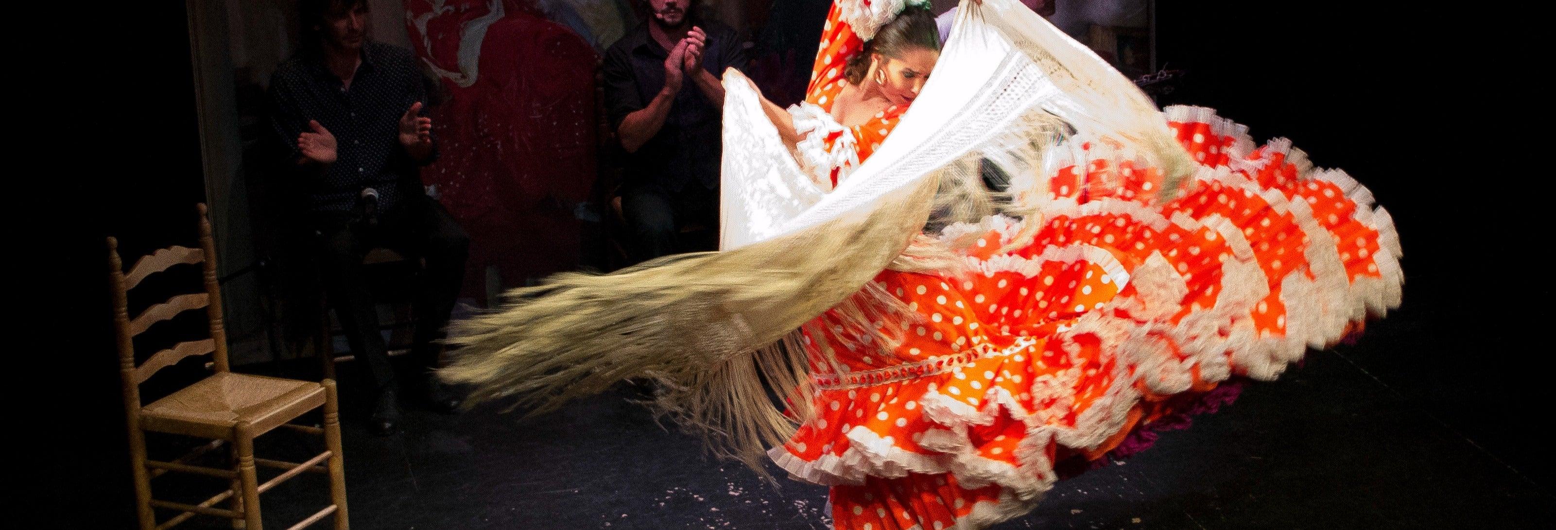 Espectáculo en el Teatro Flamenco Triana