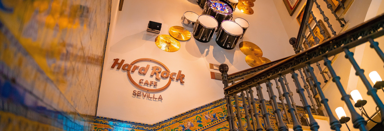 Almoço ou jantar no Hard Rock Cafe Sevilha