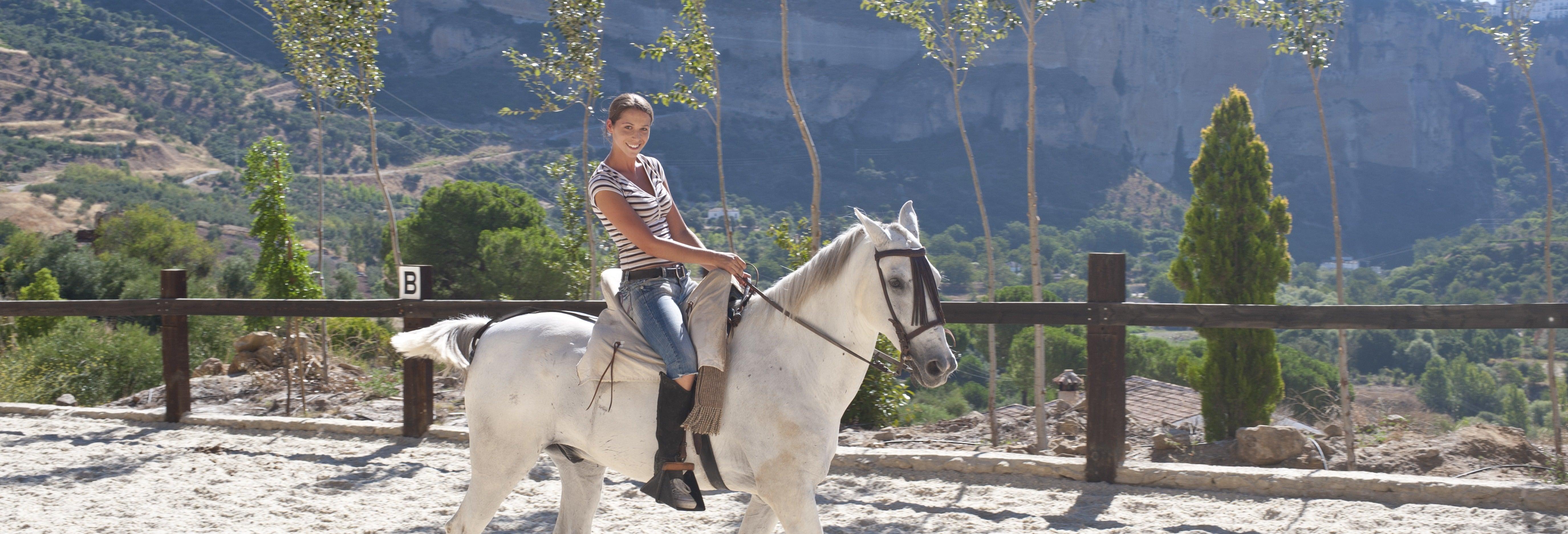 Balade à cheval à El Aljarafe