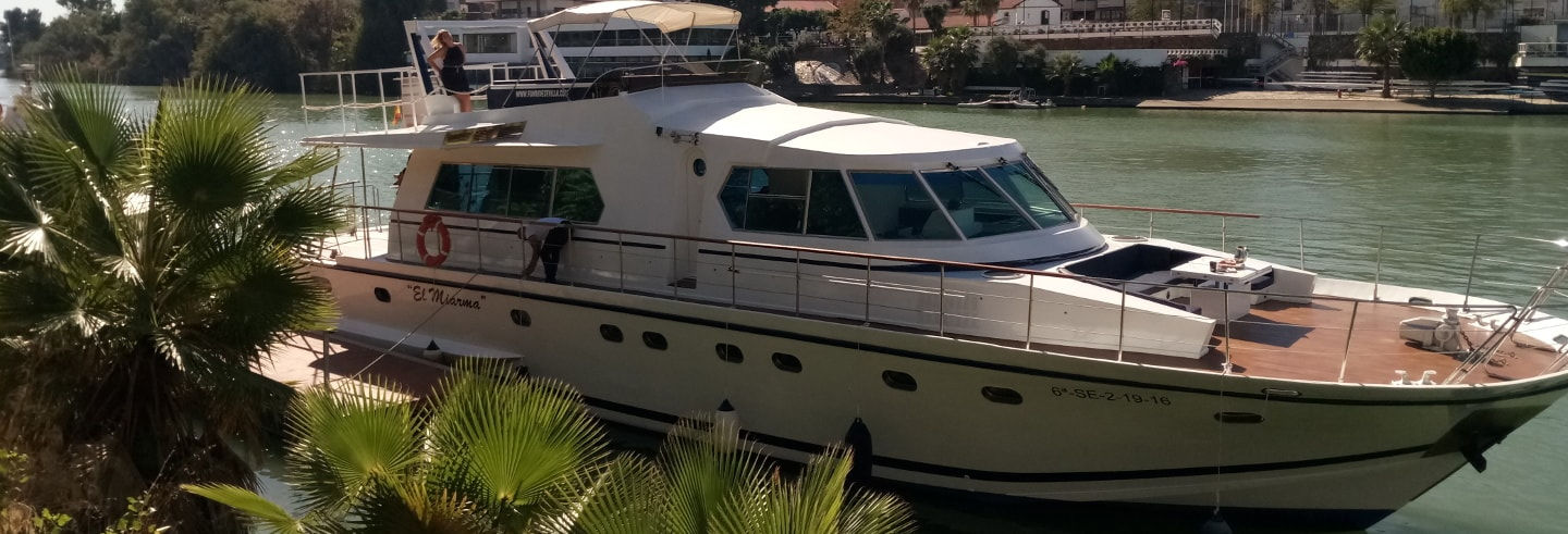 Giro in yacht sul Guadalquivir