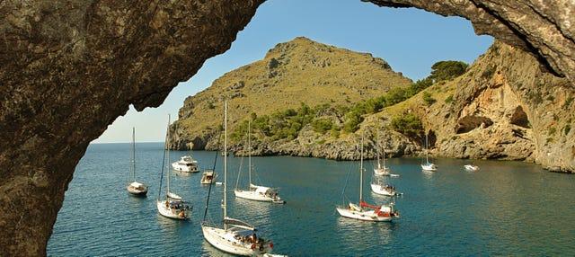 Barco a Sa Calobra desde Sóller