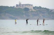 Tour en paddle surf por Somo
