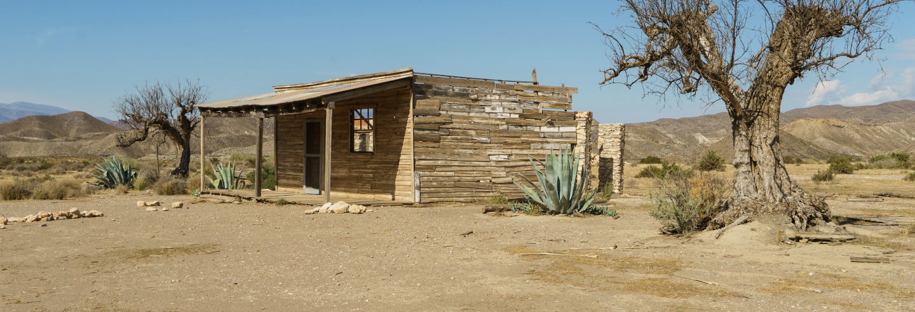 Senderismo por el desierto de Tabernas