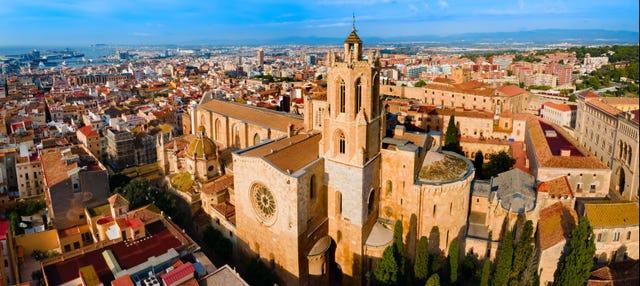 Entrada a la Catedral de Tarragona