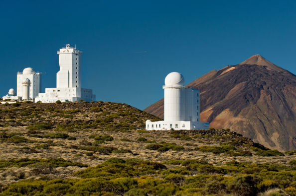 Telescopes of the Teide Observatory