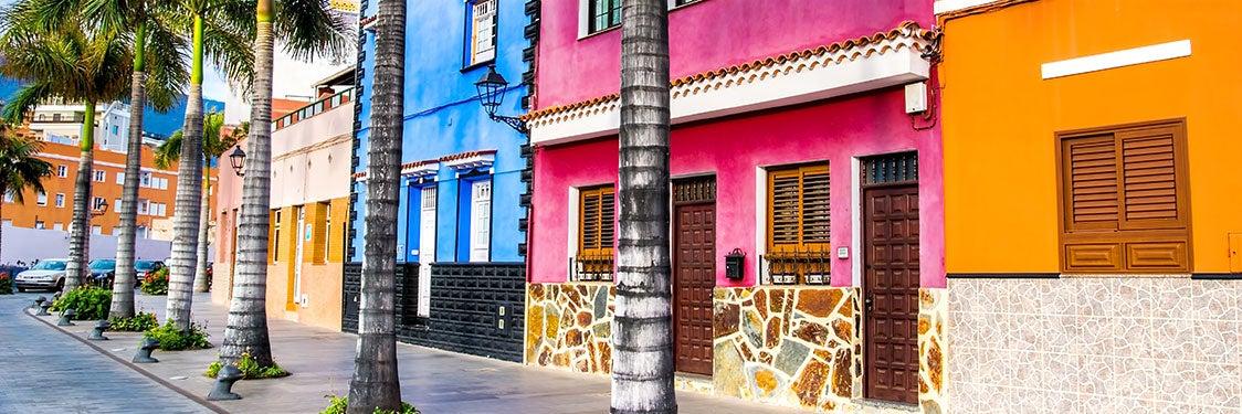 Cidades e povoados de Tenerife
