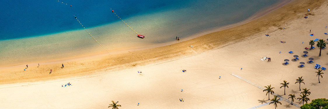 Praias e calas de Tenerife