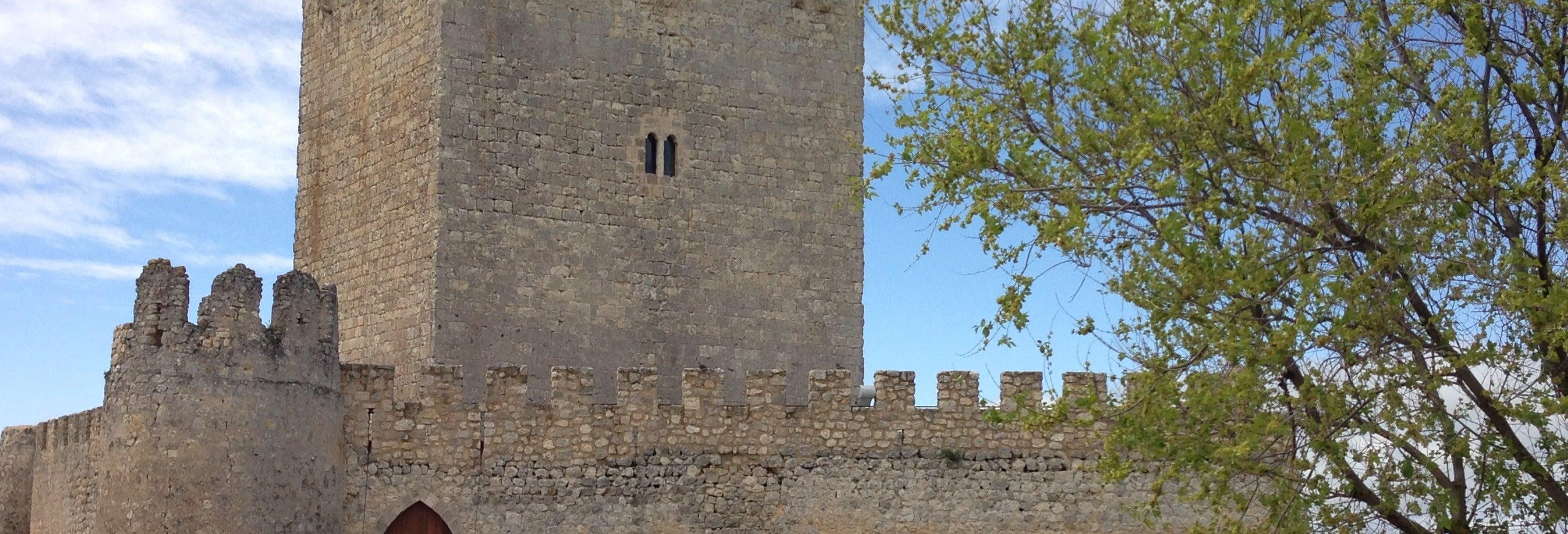 Entrada al castillo de Tiedra