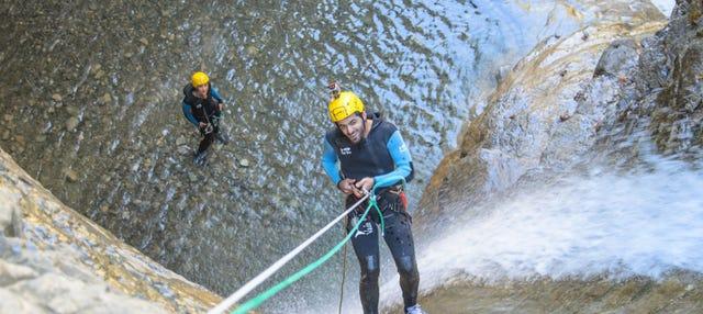 Canyoning dans les Pyrénées aragonaises