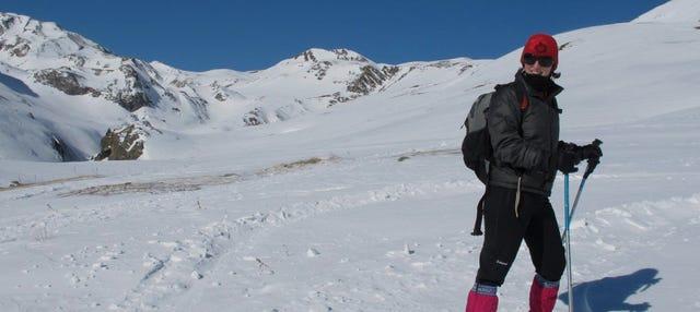 Paseo con raquetas de nieve por Ordesa y Monte Perdido