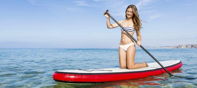 Alquiler de equipo de paddle surf en Torremolinos