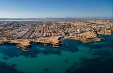 Paseo en barco por la bahía de Torrevieja