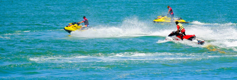 Tour de jet ski pela costa de Torrevieja