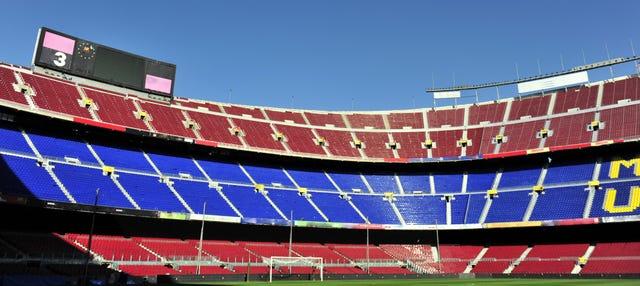 Camp Nou Experience + Fuente mágica de Montjüic