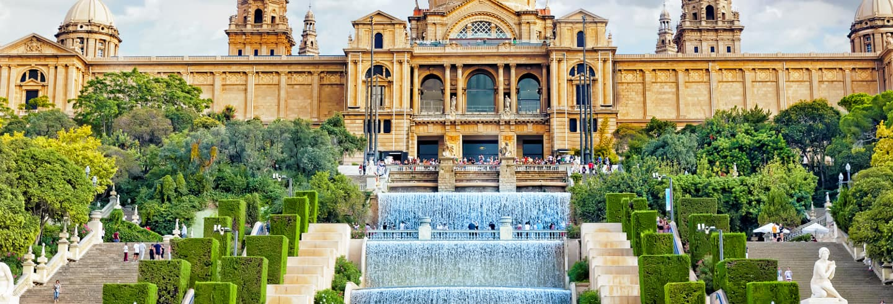 Barcelona Day Trip & Montjuic Magic Fountian Show