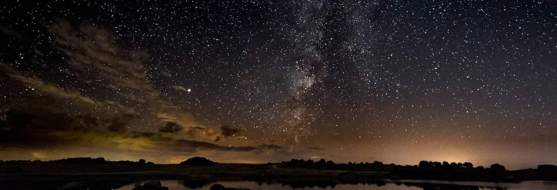 Observación de estrellas en Valdesalor