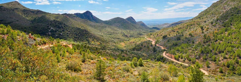 Excursão de 4x4 pela Serra Calderona