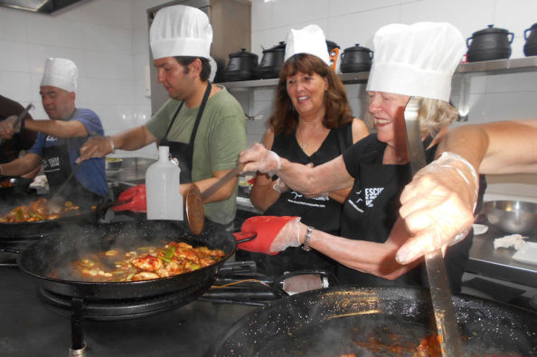 Learning to make a paella