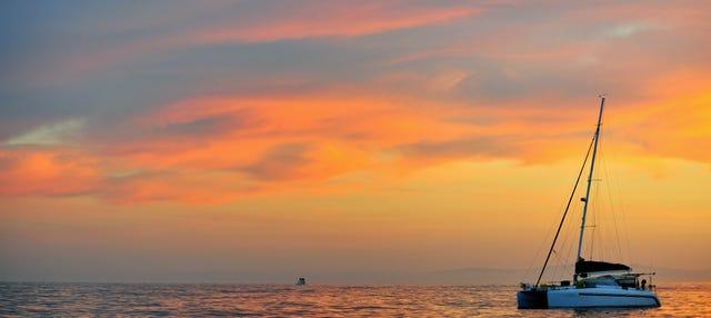 Sunset Catamaran Cruise in Valencia