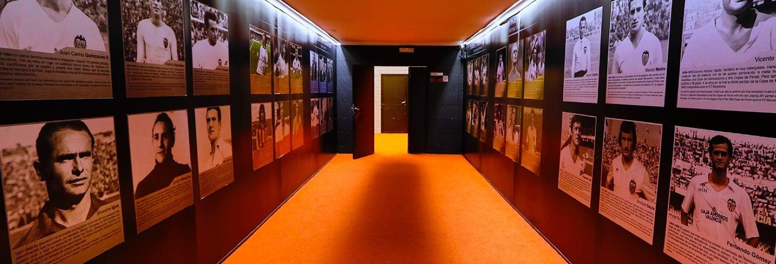Tour dello stadio Mestalla