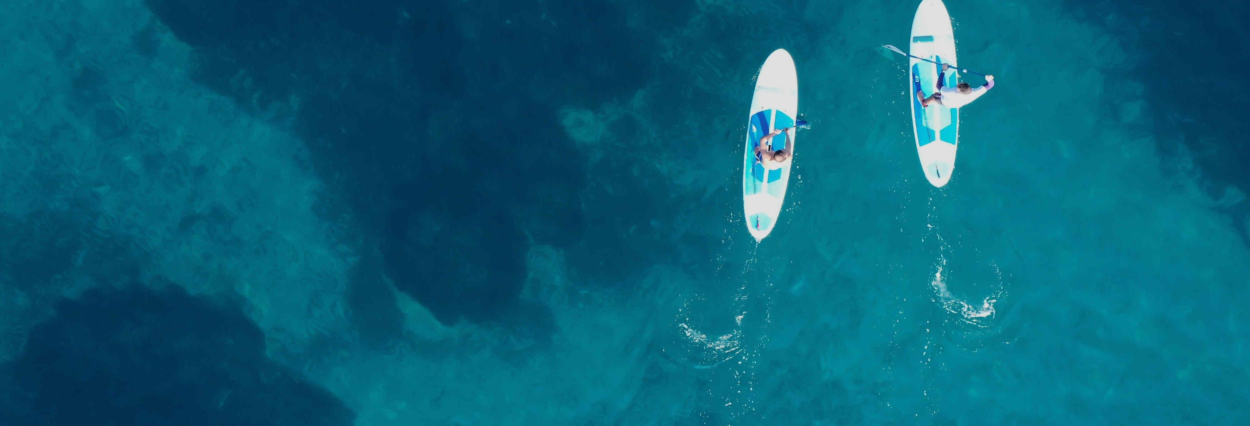 Paddle surf en Villanueva y Geltrú