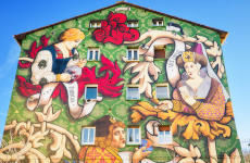 Tour del arte urbano por Vitoria