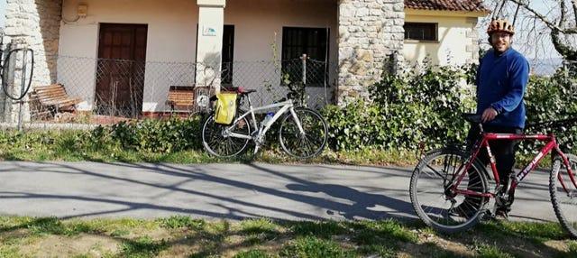 Tour en bicicleta por la Vía Verde Vasco-Navarro