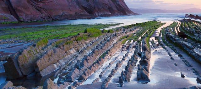 Paseo en barco por el Flysch de Zumaia