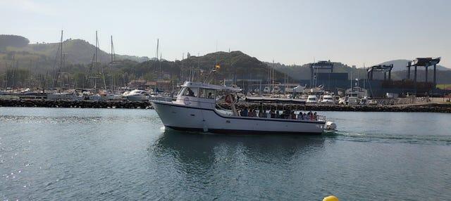 Paseo en barco por Zumaia, Getaria y Orio