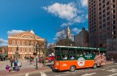Trolebús turístico de Boston