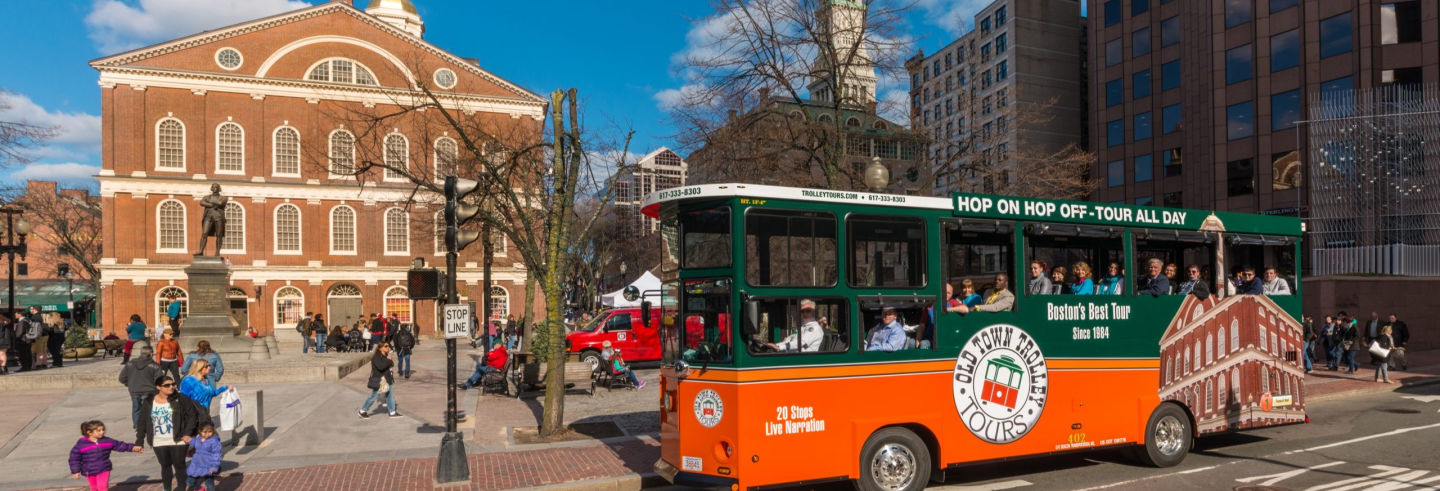 Boston Trolleybus Tour