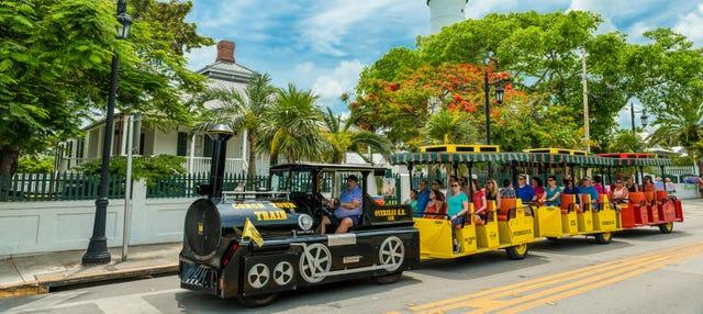 Tren turístico de Cayo Hueso