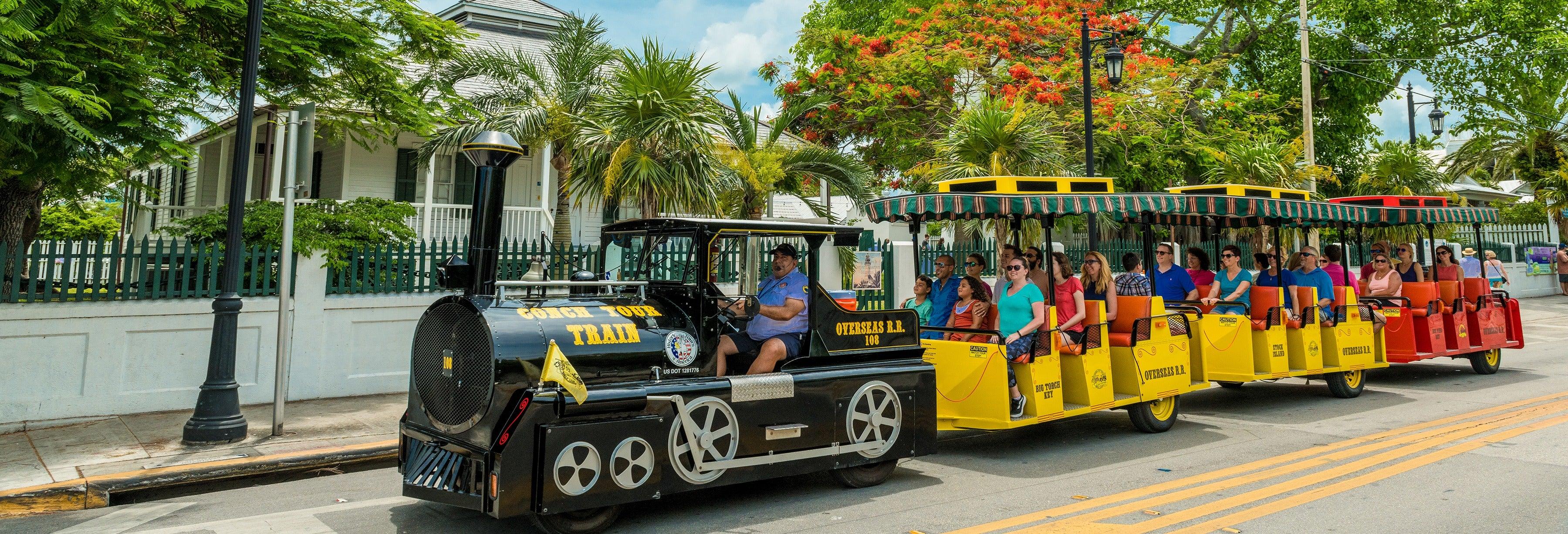 Train touristique de Key West