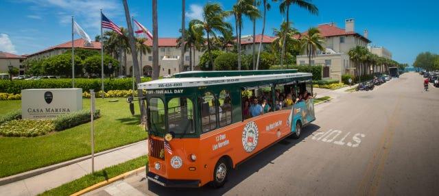 Trolebús turístico de Cayo Hueso