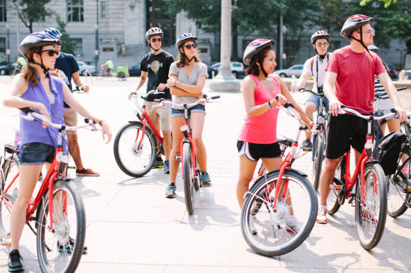 Visiting Chicago by bike