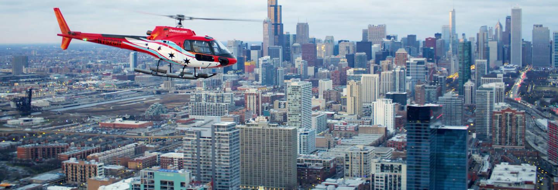 Paseo en helicóptero por Chicago