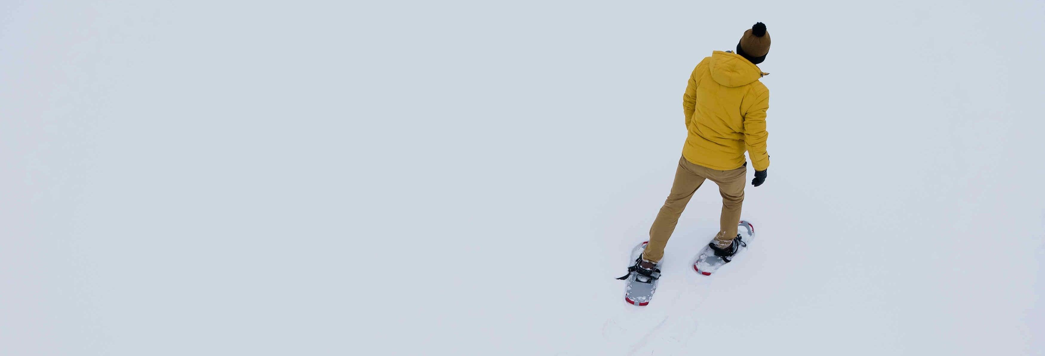 Balade en raquettes à Fairbanks