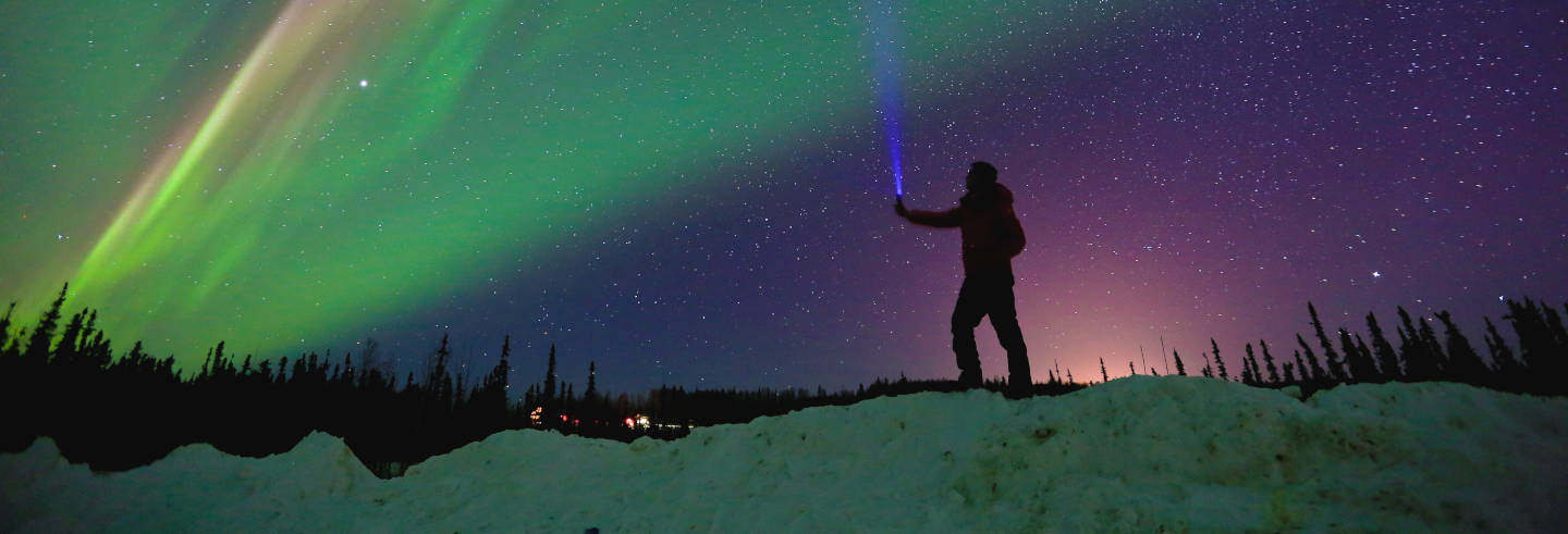 Chena Hot Springs & Northern Lights Tour