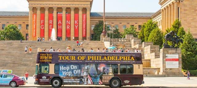 Ônibus turístico da Filadélfia